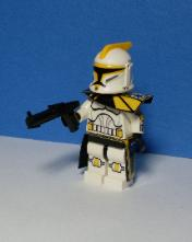 Clone Wars Yellow ARC Trooper